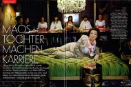 Vanity Fair Germany, March 8, 2008, on The Richest Chinese Women by Paolo Woods