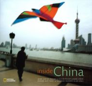 National Geographic book on China, August 2007, with a cover of Shanghai by Daniele Mattioli