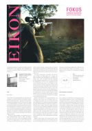 "Eikon, international magazine for photography and media art, issue no. 63/2008 on our book ""east"""