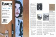 "foam magazine Amsterdam, summer 2008, on our new book ""east"" by Regina Maria Anzenberger (editor) published in moser verlag Munich"