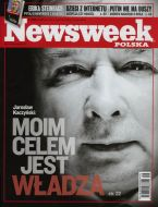 Newsweek Poland, February 2008, on Jaroslaw Kaczynski by Rafal Milach