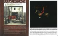 project magazine Greece, December 2008, on Rafal Milach's pictures about Disappearing Circus in Poland