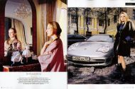 Vanity Fair Germany, March 2007 on Russian Female Oligarchs by Paolo Woods and Serge Michel