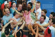 Kurier Freizeit, August 2007 on the Tomatina Festival in Spain by Joan Costa