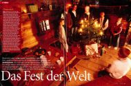 stern, December 2004, Christmas in the Alps by Manfred Horvath