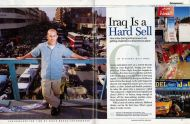 Time magazine USA, March 2004, on the New Entrepreneurs in Iraq by Paolo Woods