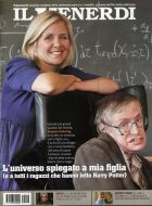 Il Venerdi magazine Italy, September 2007, on Lucy & Stephen Hawking by Horst Friedrichs