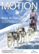 Motion, 2/2011, cover picture about dog sledge races by Goncalo Azumendi