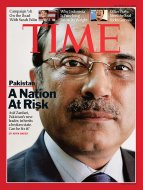time magazine September 22, 2009, about Asif Zardari by Pablo Castagnola